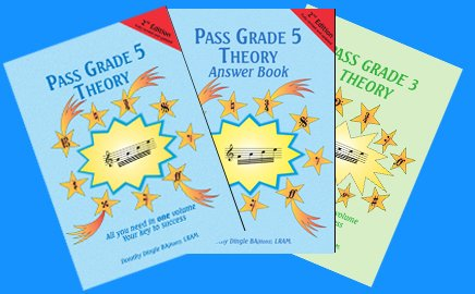 dingle music - music theory books - revised for 2018